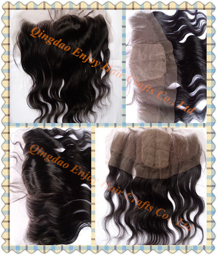 Wholesale Brazilian Virgin Hair 13x4 Silk Lace Frontal Extension