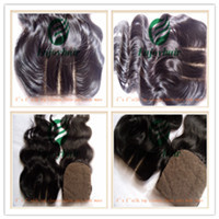 Wholesale Brazilian Virgin Hair 4x4 Silk Lace Top Closure Extension