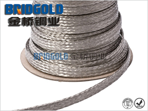 Wholesale Flexible Flat Tin Copper Braided Wire