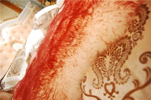 Wholesale Tibetan Mongolian Lamb Fur Wool Blanket