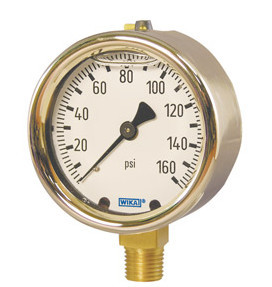 Wika Bourdon Tube Pressure Gauges