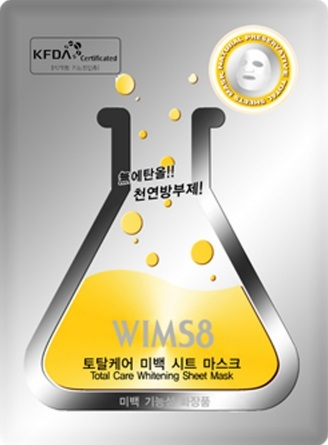 Wims8 Total Care Whitening Sheet Mask