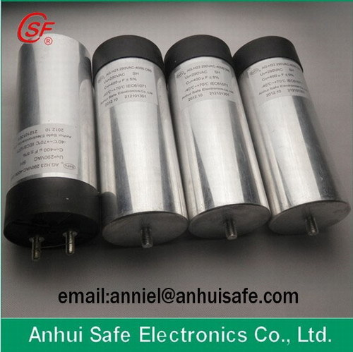 Wind Power Dc Capacitor Cylinder Aluminum Case 18uf 1200vdc Manufacturer