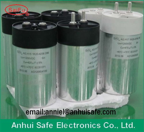 Wind Power Solar Dc Capacitor Cylinder Dry Type 20uf 3000vdc Photovoltaic