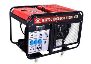 Winyou China Chongqing 220v 380v 10kw Gasoline Generator Set