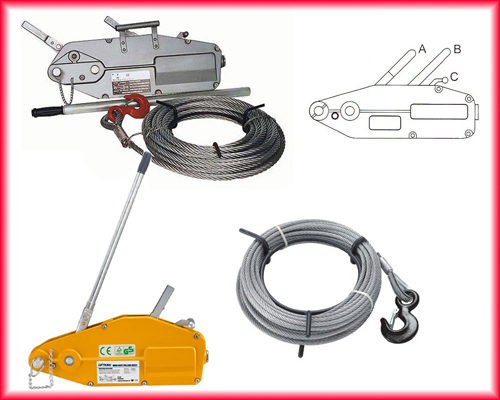 Wire Rope Pulling Hoist Applications And Price List