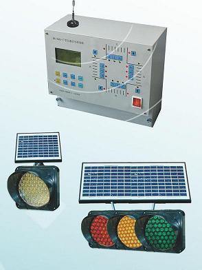 Wire Wireless Solar Power Traffic Signal Control System