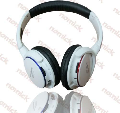 Wireless Bluetooth Card Headphones Headset New Sd 8001bt