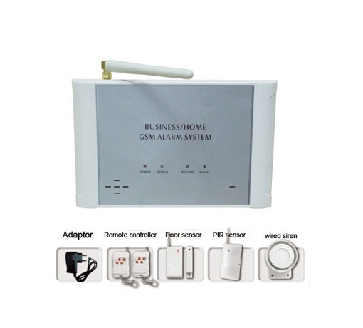 Wireless Gsm Home Alarm System With Two Way Intercom