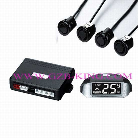 Wireless Lcd Parking Sensor With 4 Sensors