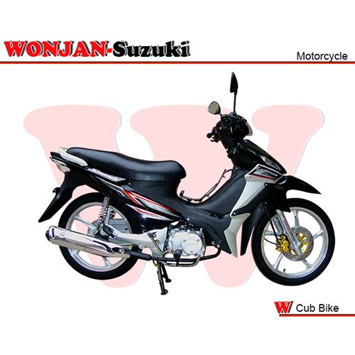 Wj110 Ii Al Black Cub Bike