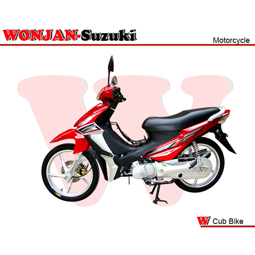 Wj110 Ii Al Red Cub Bike