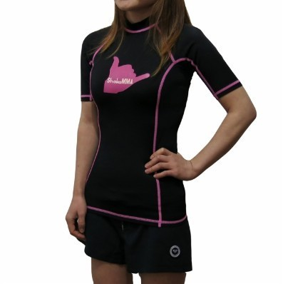 Women S Short Sleeve Rash Guard