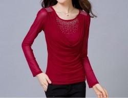 Womens Fashion Casual O Neck Tshirts