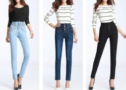Womens Slim Fashion Skinny Denim Jeans