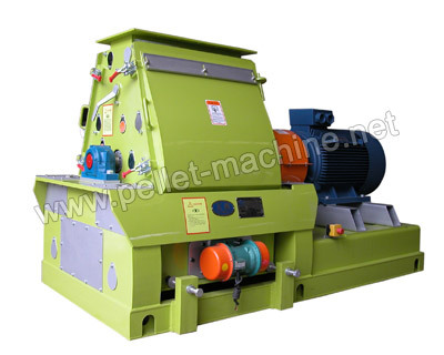 Wood Hammer Mill Is Used To Crush Material By The Collision Between High Sp