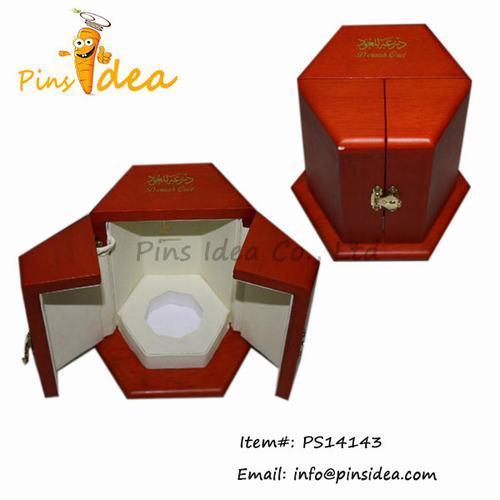 Wood Hardwood Perfume Display Gift Box Professional Wooden Crafts Manufactu