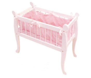 Wooden Baby Crib 65292 Bed Children Beds Furniture Promotional Toys Interes