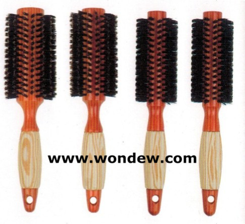 Wooden Hair Brush Wood Comb Quality Round