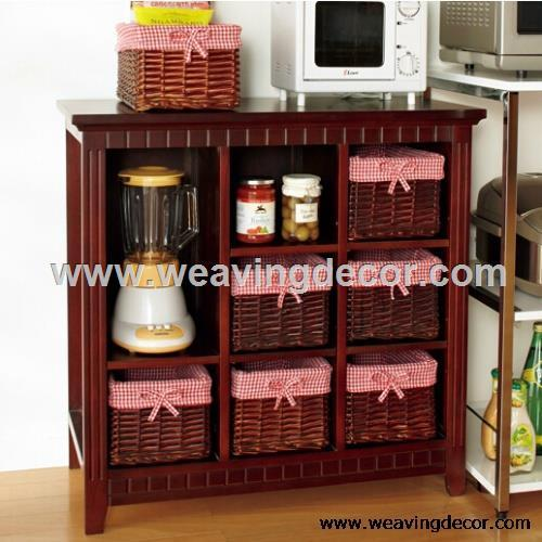 Wooden Storage Cabinet From Factory