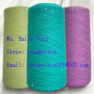 Wool Acrylic Blended Yarn Non Bulk For Knitting
