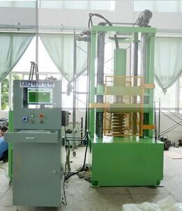 Wpw 100t Servo Hydraulic Spring Setting Machine