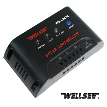 Ws L2430 20a 25a 30a Wellsee Solar Light Controller