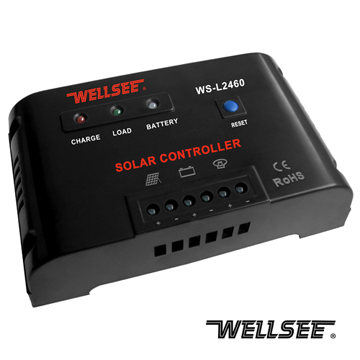 Ws L2460 40a 50a 60a Solar Light Controller Ensuring Wellsee Assembles