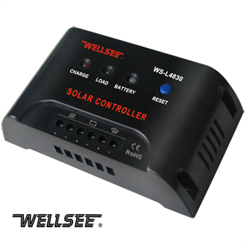 Ws L4830 L4860 20a 25a 30a 40a 50a 60a Wellsee Solar Light Controller