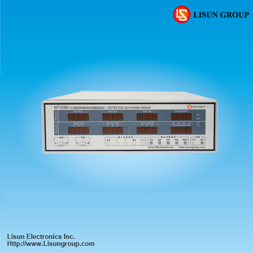 Wt2080 Led Power Driver Tester For Ac Dc Input And Output Voltage Current F