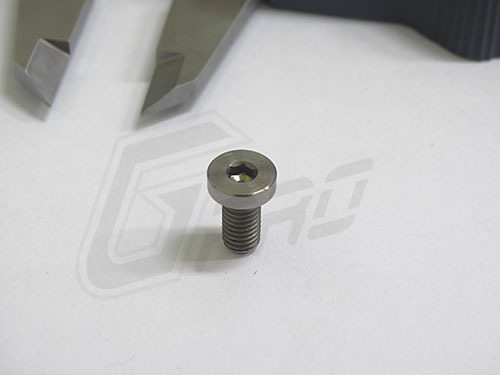 X4 New Gr 5 Titanium Screws M5 10mm Pitch 0 8 Cap Hex Head