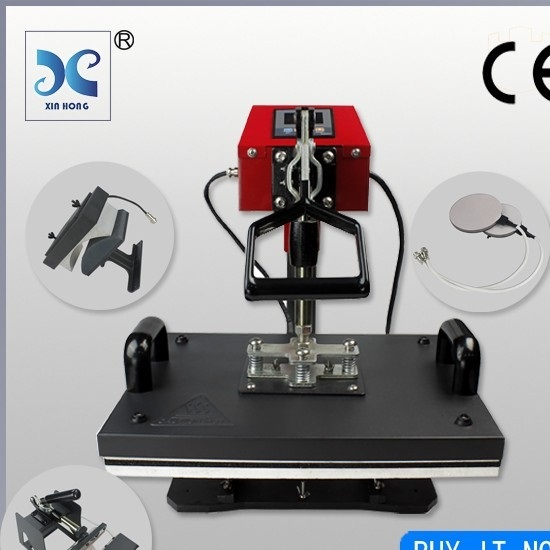 Xinhong Hp5in1 High Quality Personalized Custom T Shirt Printing Machine