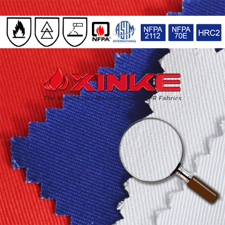 Xinke Protective Astm D1506 100 Cotton Fire Retardant Fabric