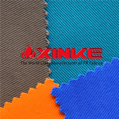 Xinke Protective Astm D1506 100 Cotton Flame Resistant Fabric