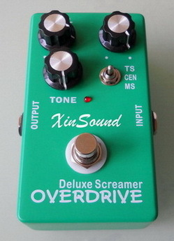 Xinsound Deluxe Tube Screamer Distortion Overdrive Guitar Effects Pedal