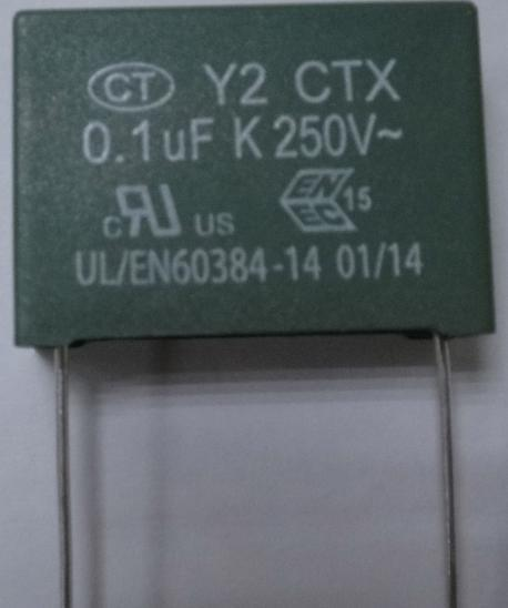 Y2 Film Capacitor Safety