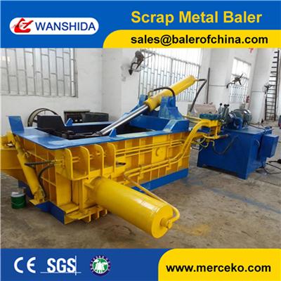Y83 125 Scrap Metal Baler Wanshida
