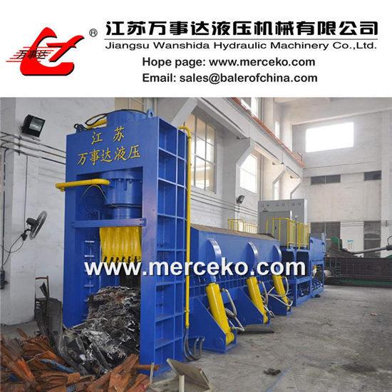 Y83q 6300c Scrap Metal Shear Baler Car Shearing Press