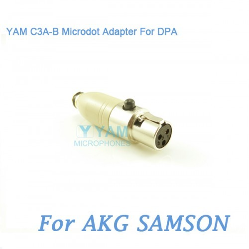 Yam C3a B Microdot Adapter For Dpa Microphones Fit Akg Samson Bodypack Tran