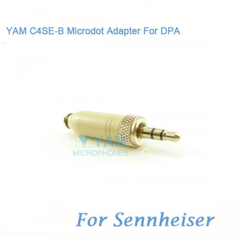 Yam C4se B Microdot Adapter For Dpa Microphones Fit Sennheiser Bodypack Tra