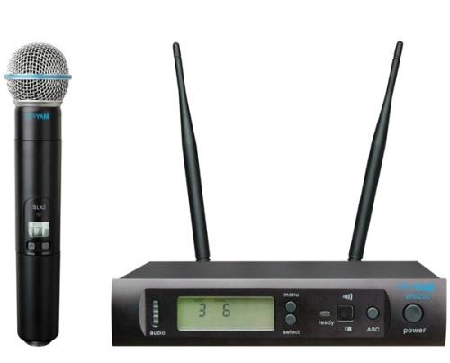 Yam Wm200 Uhf Wireless Microphone Professional Sound