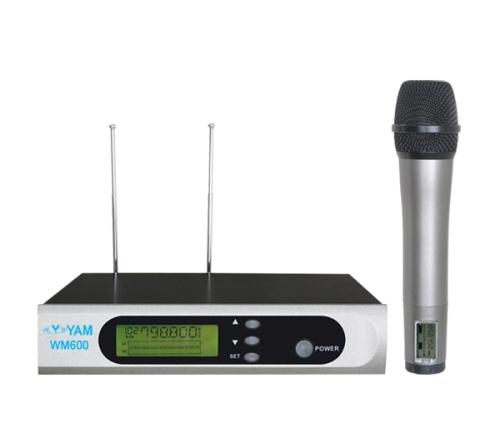 Yam Wm600 Uhf Wireless Microphone Professional Sound For Stage