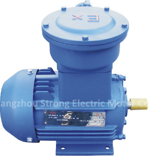 Yb3 Series Three Phase Induction Motor Ip55 F Ac