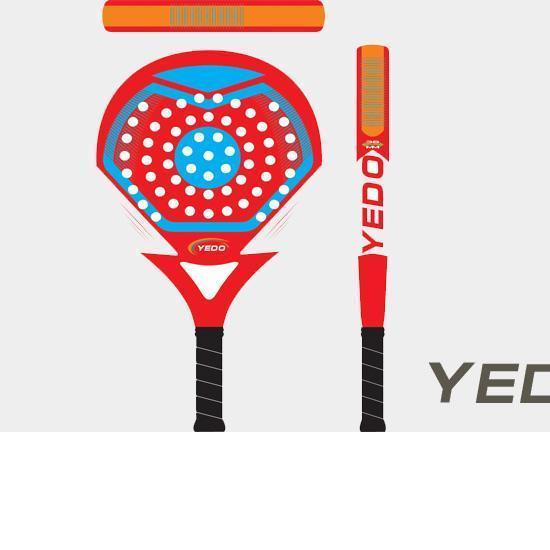 Yd Pr002 China 2014 New Oem Carbon Fiber Graphite Paddle Beach Racket