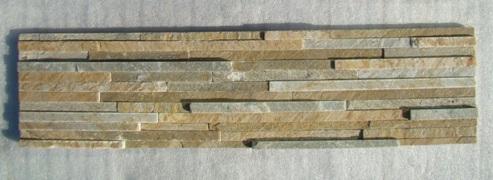 Yellow Quartzite Stone Panel Zfw014d2
