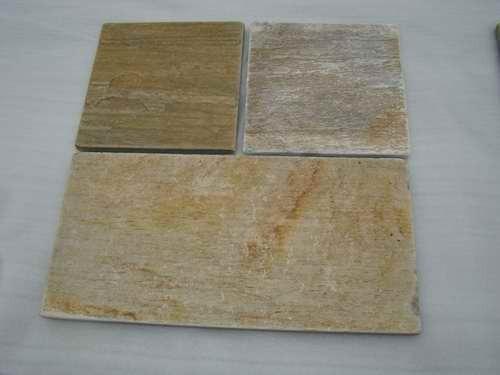 Yellow Quartzite Stone Tile Zf014t