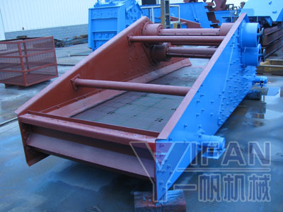 Yifan Zk Series Straight Line Vibrating Screen