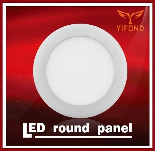 Yifond Led Panel Light Round Flat Ceiling