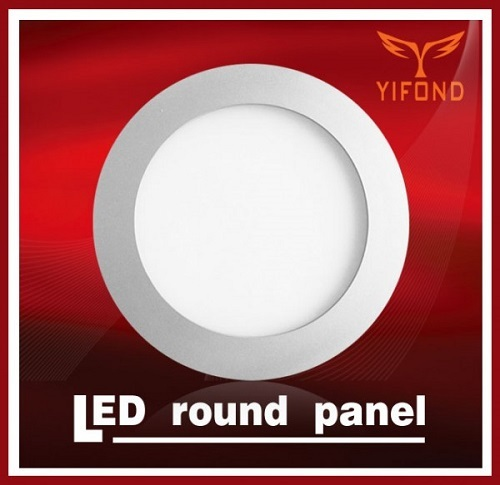Yifond Led Round Panel Light Flat Ceiling