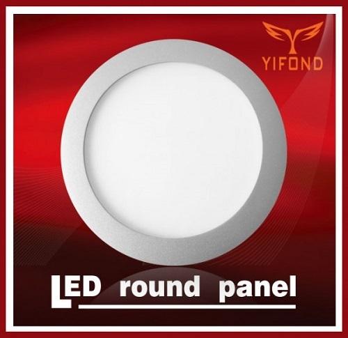 Yifond Led Round Panel Light High Brightness Flat Ceiling